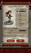 Caterina Whipmaster II (base stats)