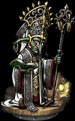 Goblin Cleric Figure