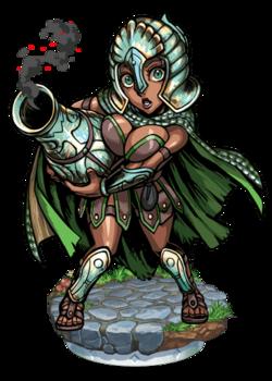Paladin of Aquarius Figure