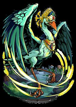 Bennu, Bird Divine Figure