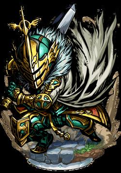 Hector, Knight Templar Figure