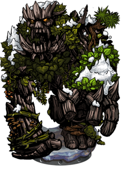 Tree Golem II Figure