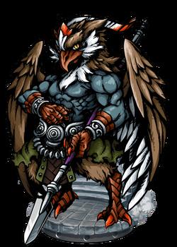 Umu Dabrutu, Eagle Warrior Figure
