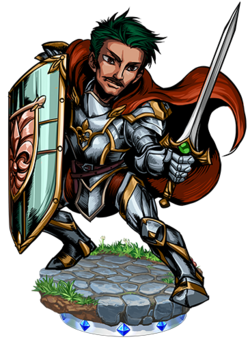 Gilles, Faithful Knight II Figure