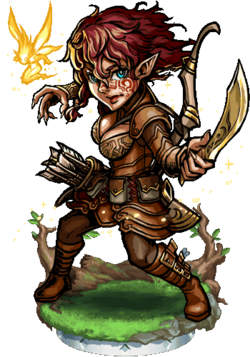 Katiria, Spritemaster Figure