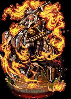 Vengeful Siege Horse Figure