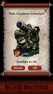 Hash, Lizardman Cannoneer Rush Reward