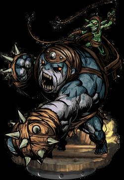 Troll Boxer Dreadnought Figure