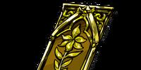 Gold Floret Slip