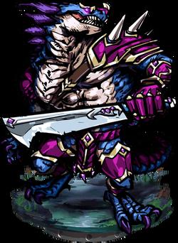 Zanga, the Iron Storm Figure