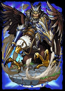 Lucan, Eagle Knight Figure