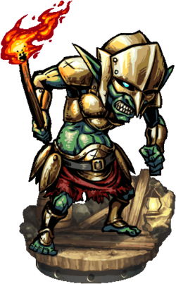Goblin Cannoneer II Figure