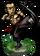 Kung Fu Monk + Figure