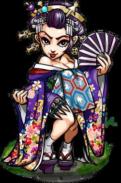 Sayuri, Geisha II Figure