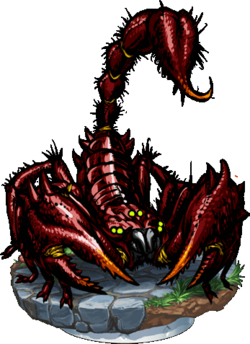 Giant Scorpion II Figure