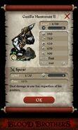 Gorilla Huntsman II (base stats)