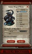 Radon, Winged Wyrm (full stats)