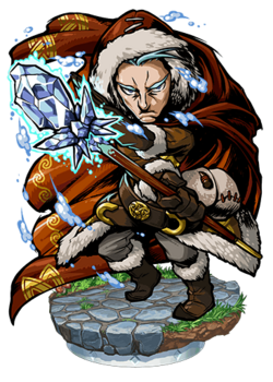Bergel, Frost Magus Figure
