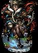 Negafok, Reindeer Rider II Figure