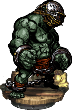 Troll Slave II + Figure
