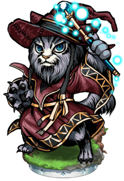 Cat Sith's Greater Mage Figure