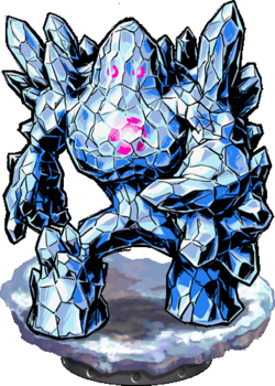 Crystal Golem Figure