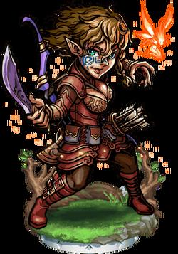 Katiria, Spritemaster II Figure