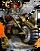 Dwarven Hog Rider II Figure