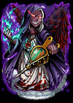 Xaphan, the Shadow Wing Figure