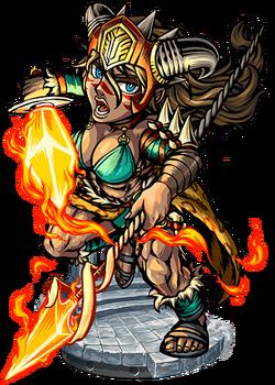 Belisama, Flame Goddess II Figure