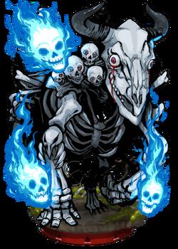 Tormented Bone Beast Figure