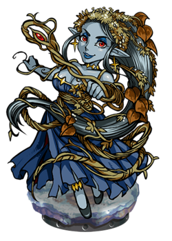 Ivy, Rampike Witch Figure
