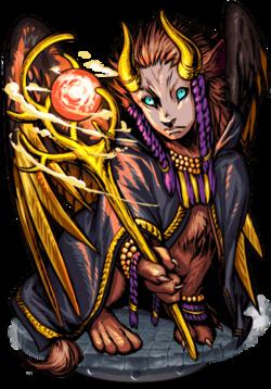 Lamassu the Merciful II Figure
