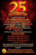 25Million Download Festival Appreciation in Blood