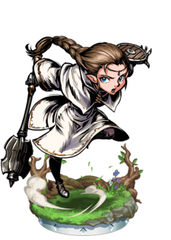 Elven Priestess + Figure