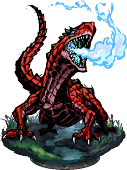 Salamander II + Figure