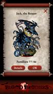 Jack the Reaper Rush Reward