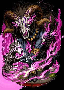 Moloch, the Infernal Axe Figure