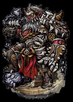 Carl, Giant Knight II Figure