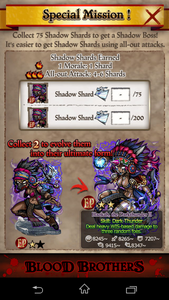 The Thunderpeak Special Mission Details