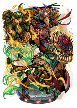 Chicomecoatl, the Bountiful II Figure