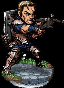Crossbowman II + Figure