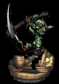 Goblin Miner Figure