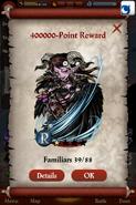 Mammom, Raven Wing Point Reward