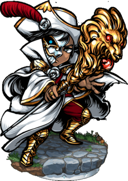 White Rosalba II Figure