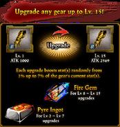 Armory Upgrade