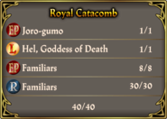 Catacombs Pact October 2015 Royal Familiars