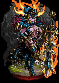 Taromaiti, Fallen Goddess II Figure