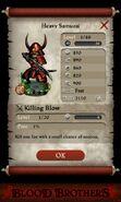 Heavy Samurai (base stats)