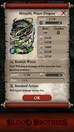 Mizuchi, Water Dragon Base Stats